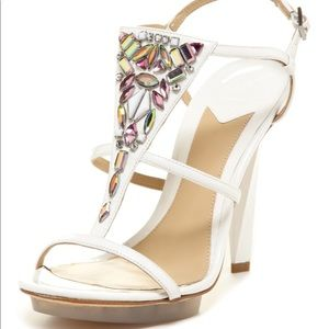 Never worn Brian Atwood sandals